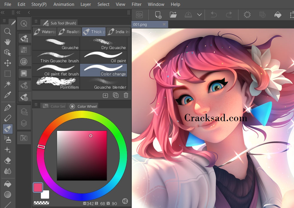 Clip Studio Paint EX Keygen